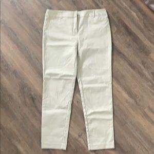 Emma Ankle Pants in Khaki